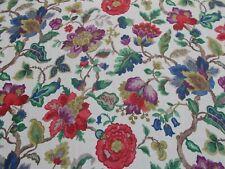 Sanderson Curtain Fabric 'AMANPURI' 1.5 METRES 150cm Original Chintz 100% Linen