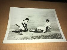 Chicago Cubs Jim King vs. New York Giants 1956 INP 7x9 News Photo