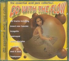 Go With The Flow Acid Jazz  Incognito/Jamiroquai/Soul Ii Soul/Us3/Galliano Cd Vg