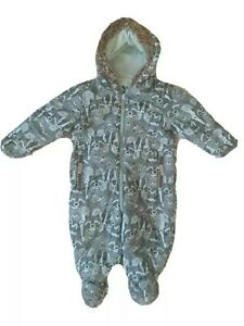 Baby Boy Snowsuit 9-12m