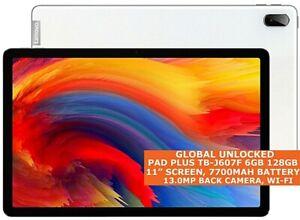 "LENOVO PAD PLUS TB-J607F 6gb 128gb Octa Core 11"" Face Id Wi-Fi Android 11 Tablet"