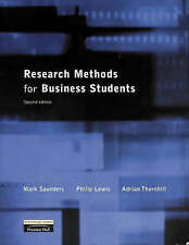 Research Methods for Business Students by Mark N. K. Saunders, etc. (Paperback,…