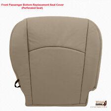 2010 - 2012 Dodge Ram 2500 3500 Laramie PASSENGER Bottom Leather Seat Cover Tan