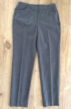 NWT  TALBOTS - Heritage Fit  Classic Gray Wool Lined Dress Pants - Size 2