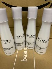 New 4 X 89ml Nexxus Emergencee Strength Recovery Conditioner Step 2 Travel Size