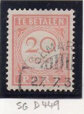 Dutch Indies 1946 Port Postage Due Issue Fine Used 20c. 163447