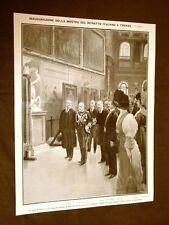Firenze nel 1911 Mostra ritratto Sala 500 Palazzo Vecchio Genova Ricci Corsini