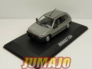 NOR13 VOITURE 1/43 NOREV : RENAULT CLIO I 1990 3 portes