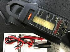 ROTARY SCALE AC ANALOG ANALOGUE CLAMP METER MODEL 2805 FUSE PROTECTED + POUCH