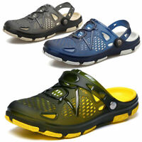 Mens Slip On Garden Mules Clogs Shoes Sports Sandals Beach Water Slippers Shoes