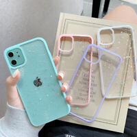 Glitter Camera Protect Clear Case Cover For iPhone 12 Pro Max 11 Xs XR 7 8 SE 2
