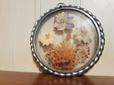 "Handcrafted in the Usa Lasting Impression Real Flowers about 6"". Beautiful."