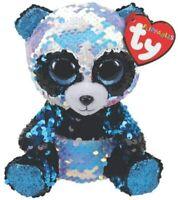 TY Beanie Boo Bamboo Panda Flippable Soft Toy 15cm 36361