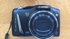 Canon PowerShot SX150 IS 14.1MP Digital Camera - Black With Case, Manual & Card