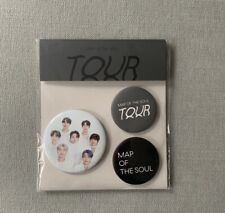 BTS official Map of the Soul Can badge set