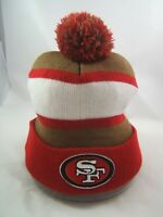 San Francisco 49ers NFL Winter Hat Bud Light Beer Toque Beanie Stocking Cap