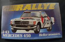 Heller Humbrol  ◊ Mercedes 450 ◊ jamais ouvert/unopenned ◊1/43◊en boîte / boxed