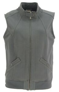 COLUMBIA AL1024 WOMEN'S MISSION STREET KNIT TRAVEL LIFE STYLE VEST, MEDIUM
