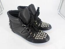 Sergio Todzi Black Studded Ankle Boots UK 3 EU 36 LN17 49