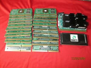 Lot of 25pcs Intel Slot one CPUs High Grade Gold Fingers for Scrap Gold Recovery