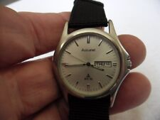 gents accurist watch MB496S NEW RENATA BATTERY -NEW STRAP