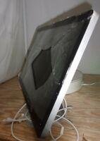 "Apple Cinema Display A1316 LCD Monitor 27"" SEE NOTES"