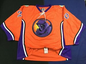 Youngstown Phantoms Phantom Fireworks Morrow #20 Hockey-(USHL) OT Jersey Size56