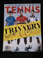 Roger Federer, Nadal & Djokovic Signed/Autographed Photo