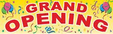 Grand Opening Banner, 3'x10'  Vinyl Banner