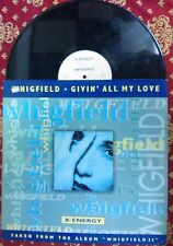 """DISCO 12"""" VINILE WHIGFIELD - GIVIN' ALL MY LOVE - MIX REMIX DANCE VG+/VG"""