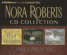 Nora Roberts Collection: The Villa, Midnight Bayou, Three Fates by Nora Roberts (CD-Audio, 2013)
