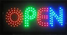 Animated LED Neon Light Open Sign Mutli Colors LED J10