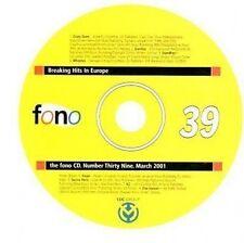 (CC399) Fono Number 39, March 2001, 8 tracks various artists - DJ CD