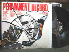 Permanent Record Orig Soundtrack OST '88 LP CLASH joe strummer lp lou reed PROMO