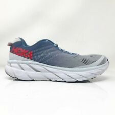 Hoka One One Womens Clifton 6 1102873 PAMB Blue Gray Running Shoes Size 10.5