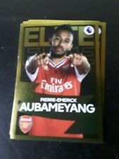 Aubameyang Elite Panini Sticker 2020 Mint Arsenal