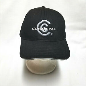 Cleveland Golf Gun Metal Black Adjustable Strapback Baseball Cap Hat