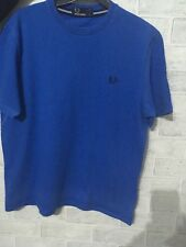 Boys Fred Perry Blue T shirt Size Large Boys