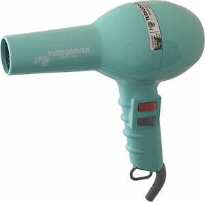 ETI Turbodryer 2000 Professional Salon Hair Dryer Aqua Blue