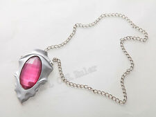 Original Devil May Cry Cosplay Prop Dante Red Ruby Necklace cosplay accessories