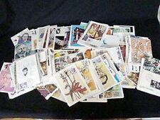 lot de 375 cartes postales avec  timbres 1ér jour époque anées 80/90