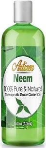 Artizen Neem Oil - 16oz (Ounce) Bottle (100% PURE & NATURAL) UNDILUTED Carrier