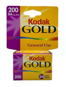 SEALED Kodak Gold 200 COLOR PRINT FILM 35MM 24 Exposures - EXPIRED 05/2003  NOS