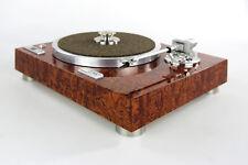 Restaurierter & Modifizierter Kenwood KD-770D Plattenspieler Edelholzfurnier