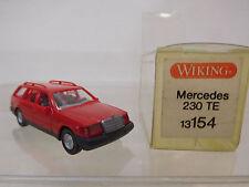 eso-3879Wiking 1:87 Mercedes 230 TE rot mit minimale Gebrauchsspuren
