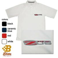 C6 Corvette Embroidered Men's Performance Polo Shirt BDCZEP121