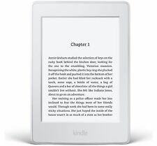Amazon Kindle Paperwhite 3rd Gen 2015, 4GB, Wi-Fi + 3G 6in White - Latest Model