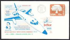 JETSTAR SPACE SHUTTLE MSBLS LANDING SYSTEM TEST FLIGHT 12-15-1976 Space Cover