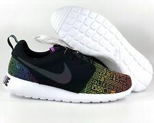 8aacaaf6085ba Nike Roshe One BT QS Be True LGBTQ Pride Black White 808715-006 Men s 11.5