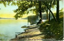 East Lyme, CT Down the River at the Golden Spur 1914